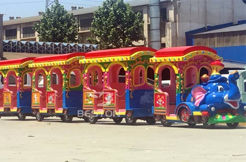 amusement park train rides supplier in Nigeria