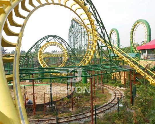 amusement park roller coaster manufacturer